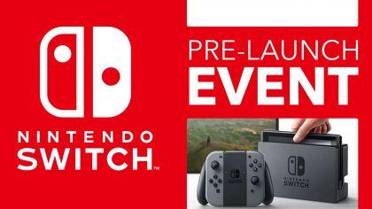 Nintendo Switch Pre-Launch Event i Sverige!