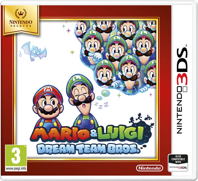 001 Mario and Luigi Dream Team Bros