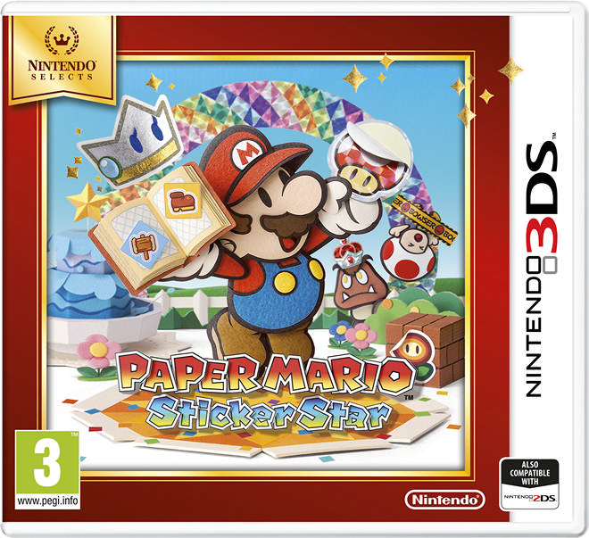 001 Paper Mario Sticker Star