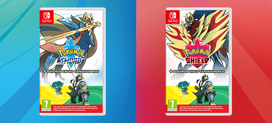 Pokémon Sword + Pokémon Sword Expansion og Pokémon Shield + Pokémon Shield Expansion